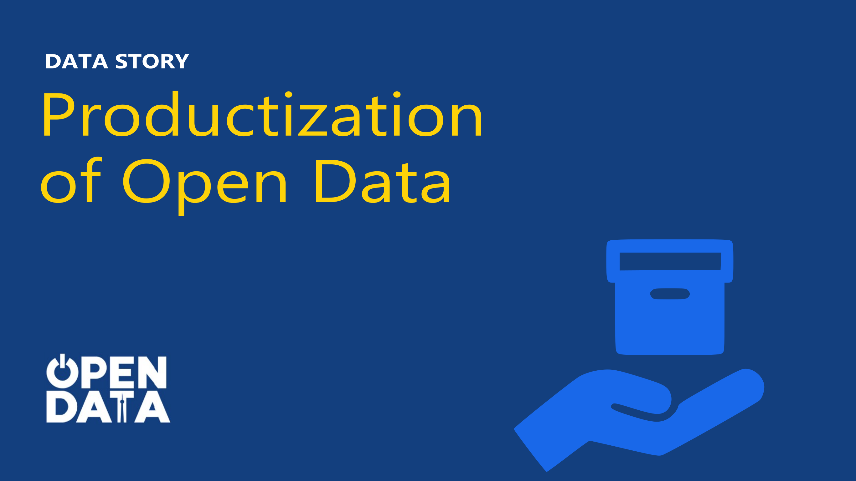 Open Data: A product approach